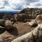 one of many viewing spots, Booroomba Rocks