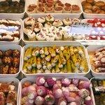 cibo al Naschmarkt