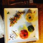 Légumes farcies pour la formule du midi