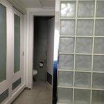 Divider into Bathroom/Dressing Room