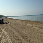 Sandbanks Beach - goes on forever