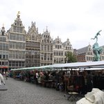 market in the Grote Markt area