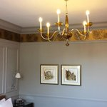 A lovely chandelier in my room