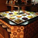 The Moroccan restaurant...