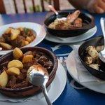 Lush food at La Taberna