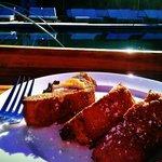 Poolside breakfast - Sweet Bread French Toast...Mmm