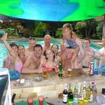 people we meet around the pool