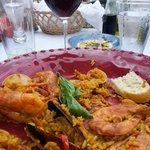 Paella at Casandra's in Green Bay, WI