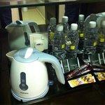 Coffee/tea-making facility