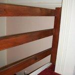 Safety rails of mezzanine