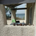 Terrasse du bungalow