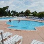 Pataugeoire et piscine