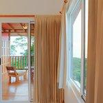 Aqua room and balcony