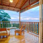 View from Aqua room balcony