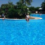 Vue de la plus grande piscine