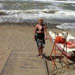 La mer un jour de vent
