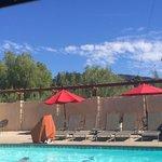 Ojai Casa's Pool Area