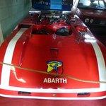 Voiture de course Abarth