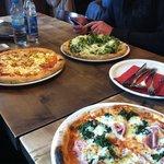 Drei verschiedene Pizzen - alle sehr lecker!
