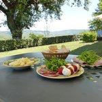 Tuscan lunch at Villa Viola