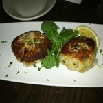 Walleye cakes at Chester's