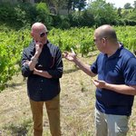 Michael and Roberto discuss wines in Chainti