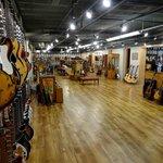 Gruhn Guitars showroom