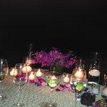 evening  dinner at Ferrasos 4 seasons