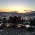 sunset dinner 4 seasons Maui