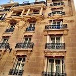 The facade of Hotel Vernet
