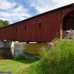 Beautiful covered bridge