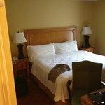 Master bedroom of king suite