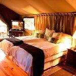La chambre sous la tente