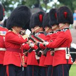Changing of Guard - arms inspection