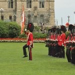 Changing of Guard - salute Colours