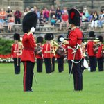 Changing of Guard - salutes