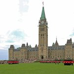 Changing of Guard on Parliament Hill