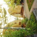 中庭--去年行ったボスニアヘルツェゴビナにこの一角の雰囲気が似てました