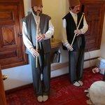 Statues depicting Sufi Music