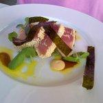 Sesame crusted tuna special