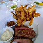 A definite crowd pleaser - flank steak #yum