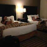 Nice, comfy beds