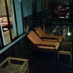 View of room balcony