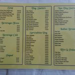 Food Menu Card