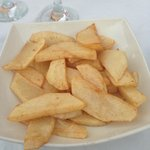 The BEST hand cut home made chips
