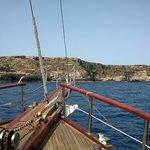 Boating around Lampedusa