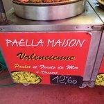 paella poulet