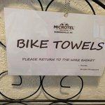 Bike Towels!  :-)