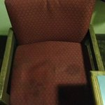 The chairs were stained and horrible!