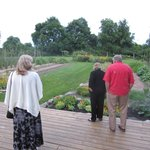 Viewing the gardens
